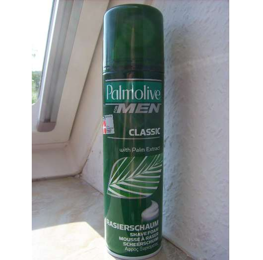 <strong>Palmolive Men</strong> Classic Rasierschaum with Palm Extract