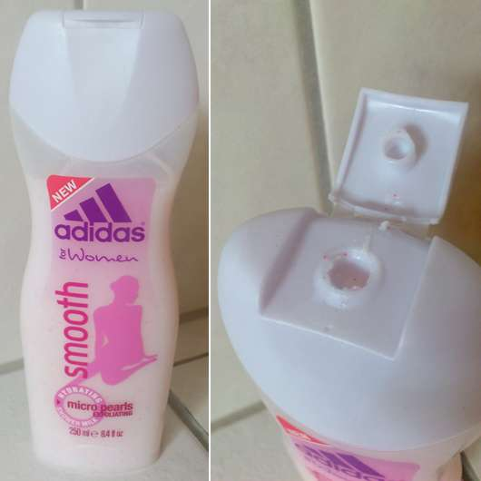 adidas for Women smooth shower milk with micro pearls