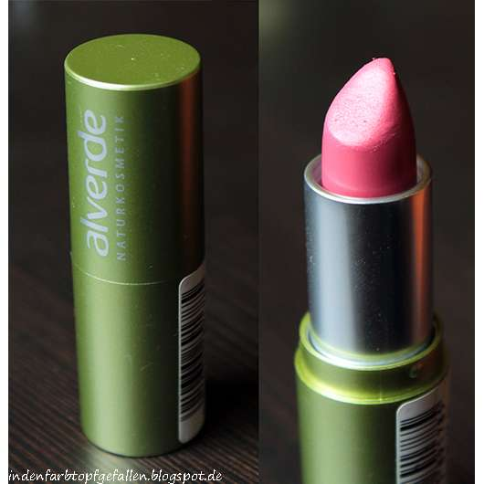 alverde Lippenstift, Farbe: 10 Sonnenexplosion (Lust auf Meer LE)