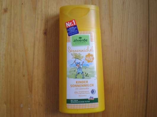 alverde Sonnenmichel Kinder Sonnenmilch LSF 30