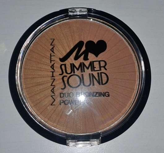 Manhattan Summer Sound Duo Bronzing Powder, Farbe: 02 Bronze Rockers (LE)