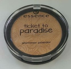 Produktbild zu essence ticket to paradise shimmer powder – Farbe 01 tropical heat (LE)