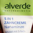 alverde 5 in 1 Zahncreme Nanaminze