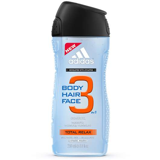 adidas® Total Relax 3in1 Shower Gel