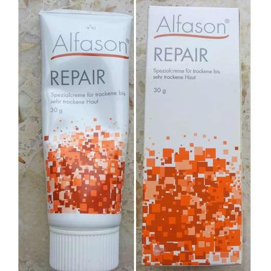 Alfason Repair Spezialcreme für trockene bis sehr trockene Haut