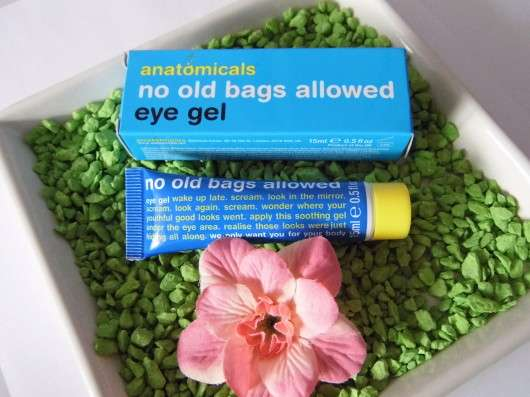 <strong>anatomicals</strong> no old bags allowed eye gel