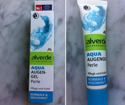 <strong>alverde Aqua</strong> Augen Gel Perle