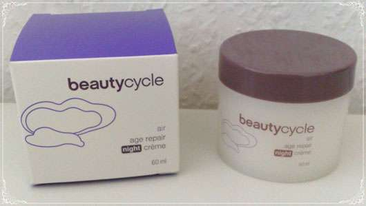 beautycycle air age repair night crème