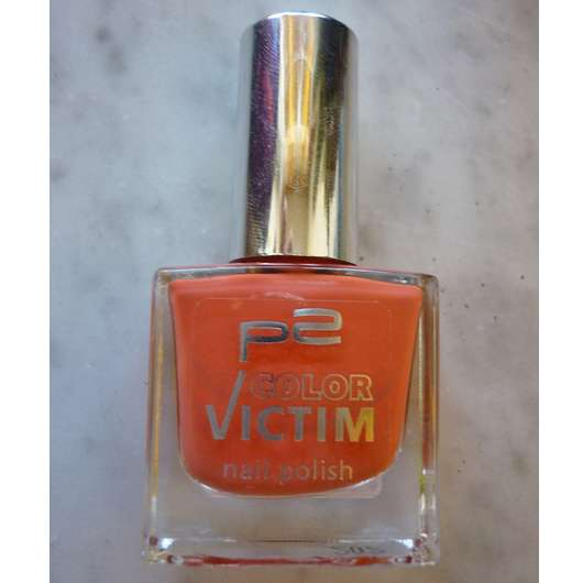 p2 color victim nail polish, Farbe: 960 dress + go