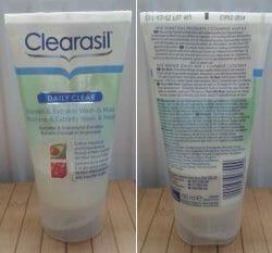 Produktbild zu Clearasil Daily Clear Vitamin & Extrakte Wash & Mask
