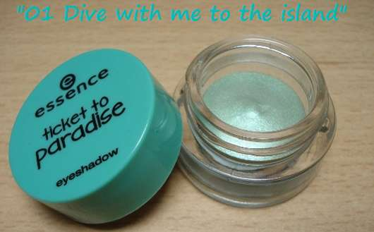 essence ticket to paradise eyeshadow, Farbe: 01 dive with me to the island (LE)
