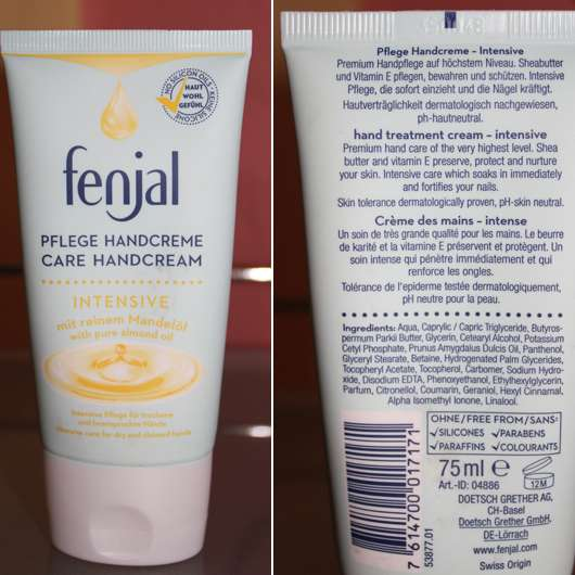 <strong>fenjal</strong> Pflege Handcreme intensive