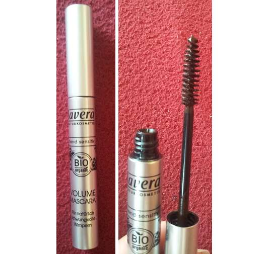 lavera Trend sensitiv Volume Mascara, Farbe: 02 Brown