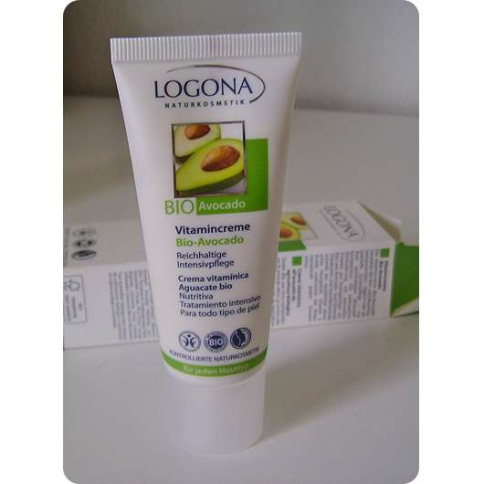 Logona Vitamincreme Bio-Avocado