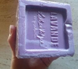 Produktbild zu Lothantique Würfelseife Lavendel