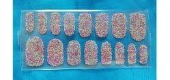 Produktbild zu essence me & my ice cream nail topping sticker – Design: 01 rainbow sprinkles (LE)