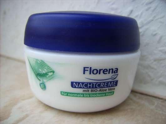 <strong>Florena</strong> Nachtcreme mit BIO-Aloe Vera