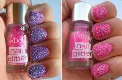 Produktbild zu IsaDora Neon Glitter Nails – Farbe: 91 Pink Pop