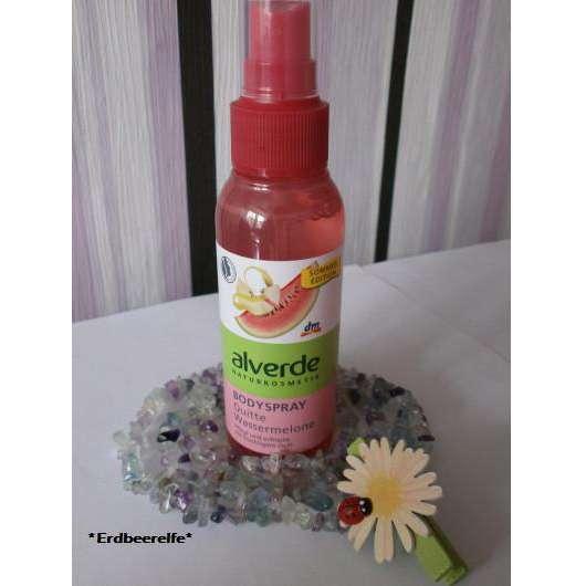 alverde Bodyspray Quitte Wassermelone (LE)