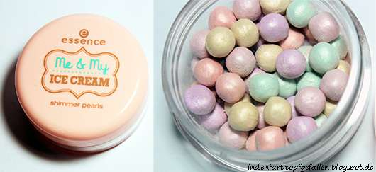 essence me & my ice cream shimmer pearls (LE)