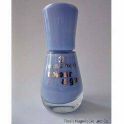 Produktbild zu essence colour & go nail polish – Farbe: 125 absolutely blue