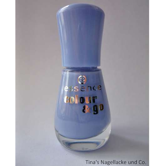 essence colour & go nail polish, Farbe: 125 absolutely blue
