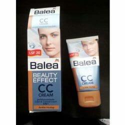 Produktbild zu Balea Beauty Effect CC Cream – Farbe: dunkler Hauttyp
