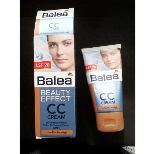 <strong>Balea Beauty Effect</strong> CC Cream - Farbe: dunkler Hauttyp