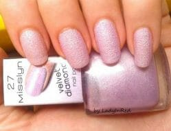 Produktbild zu Misslyn Velvet Diamond Nail Polish, Farbe: 27 goody bag (LE)