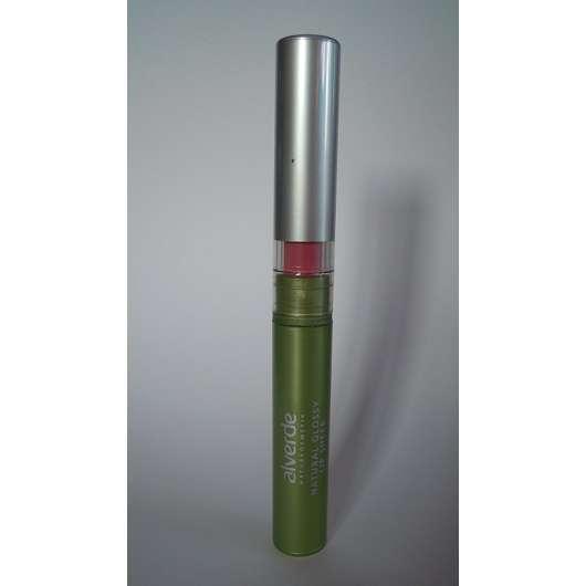alverde Natural Glossy Lip Sheer, Farbe: 10 Light Magenta