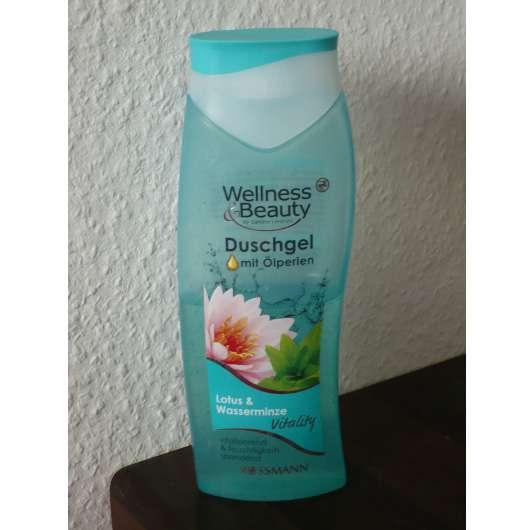 Wellness & Beauty Duschgel mit Ölperlen Lotus & Wasserminze