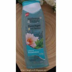 Produktbild zu Wellness & Beauty Duschgel mit Ölperlen Lotus & Wasserminze