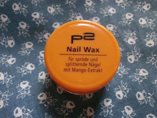 p2 cosmetics Nail Wax mit Mango-Extrakt