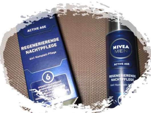Nivea Men Active Age 6in1 Vitalisierende Nachtpflege