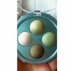 Produktbild zu Alterra Naturkosmetik Quattro Lidschatten – Farbe: 03 Green Harmony
