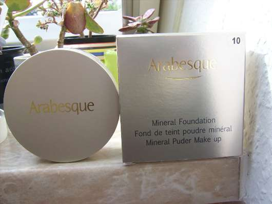 Arabesque Mineral Foundation, Nuance: 10 Vanilla