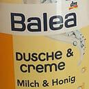 Balea Dusche & Creme – Milch & Honig