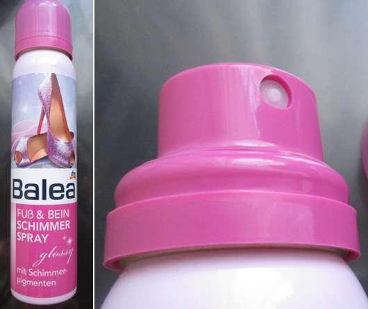Balea Fuß & Bein Schimmer Spray (LE)