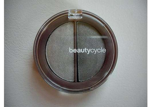 beautycycle eye shadow duo, Farbe: arctic grey