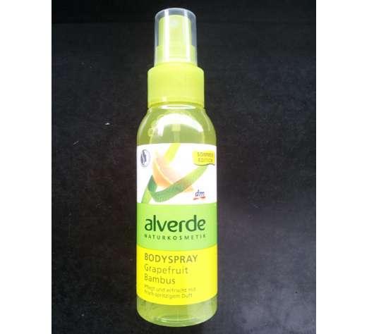 alverde Bodyspray Grapefruit Bambus (LE)