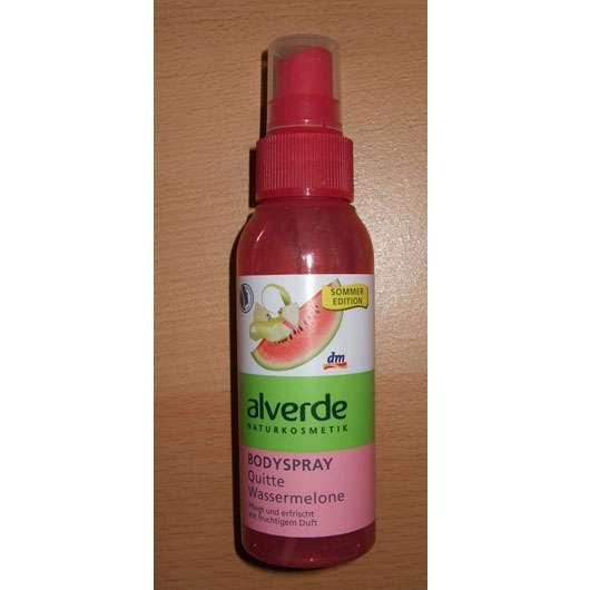 alverde Bodyspray Quitte & Wassermelone (LE)