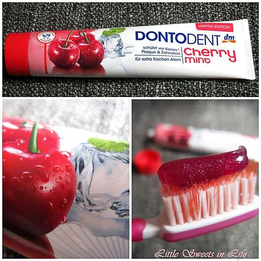 <strong>DONTODENT</strong> Cherry Mint Zahncreme (LE)