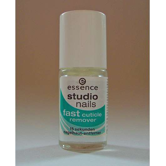 essence studio nails fast cuticle remover