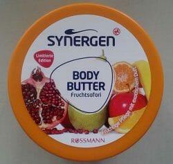 Produktbild zu Synergen Body Butter Fruchtsafari (LE)