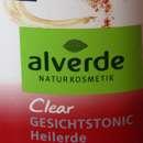 alverde Clear Gesichtstonic Heilerde (unreine Haut)