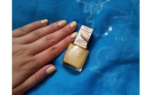 Misslyn Velvet Diamond Nail Polish, Farbe: 54 Sunshine Reggae (Sugar Baby LE)