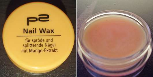 p2 Nail Wax mit Mango Extrakt