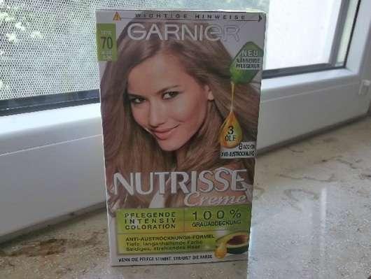 Garnier Nutrisse Creme Pflegende Intensiv Coloration, Farbe: 70 Mittelblond/Toffee