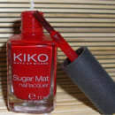 KIKO Sugar Mat Nail Lacquer, Farbe: 632 True Red