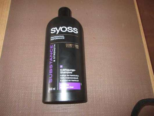 Syoss Substance & Strength Kräftigungs-Shampoo